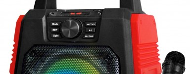 Portable Speaker With Mic