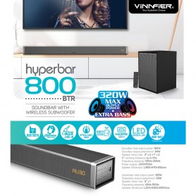 Hyperbar 800 BTR Wireless Soundbar