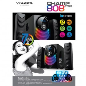 Champ 808 BTRM 2.1 Speaker System