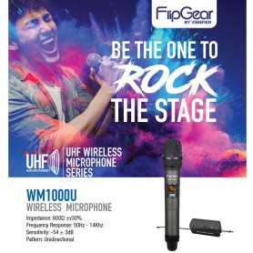 WM1000U Professional Wireless Microphones