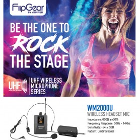 WM2000U Professional Headsets Wireless Microphone