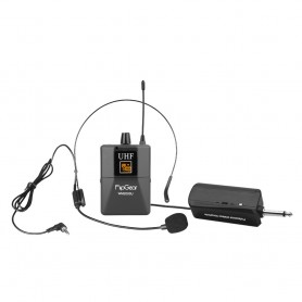 WM 2000 U Professional Universal UHF Handsfree Headsets Wireless Microphones With Rechargeable Transmitter For Headphones
