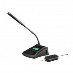 WM 3000 U Professional Universal UHF Conference Wireless Microphone With Rechargeable Transmitter