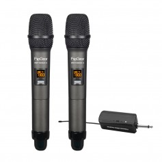 WM 1100 DUO Professional Universal UHF Handheld Wireless Microphones With Rechargeable Transmitter Wireless Mic