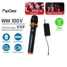 WM100V Professional Wireless Microphone