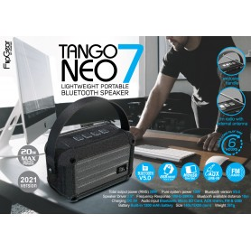 Tango Neo 7 Lightweight Portable Bluetooth Speaker